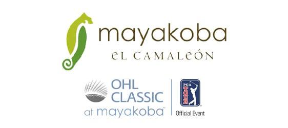 Logo Mayakoba golf PGA