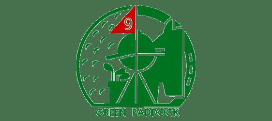 logo green paddock golf