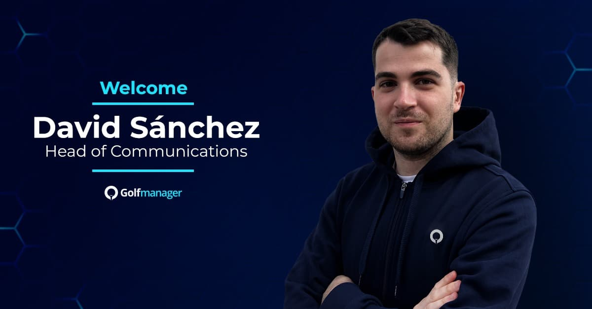 David Sanchez se incorpora a Golfmanager
