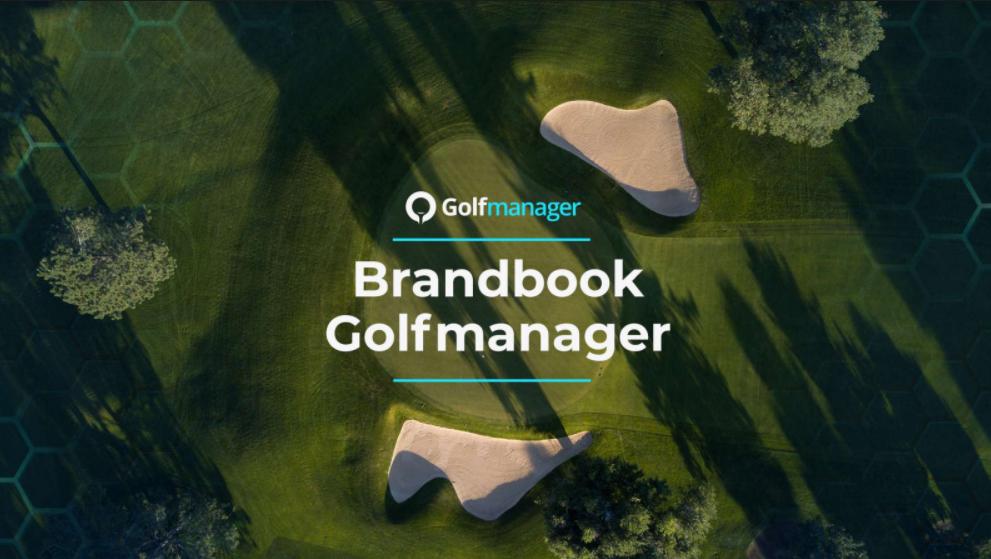 Golfmanager brandbook cover