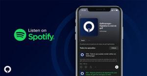 Podcast on golf digitization in Spotify